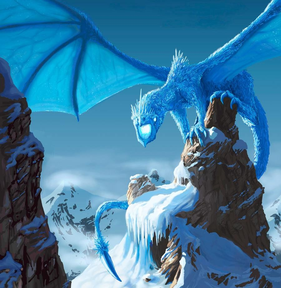 ice elemental dragons - photo #10